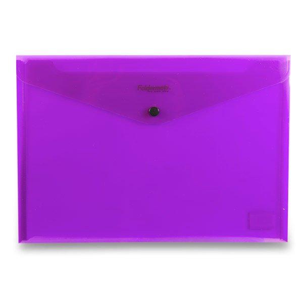 Třídění a archivace - Spisovka s drukem FolderMate PopGear fialová, A4