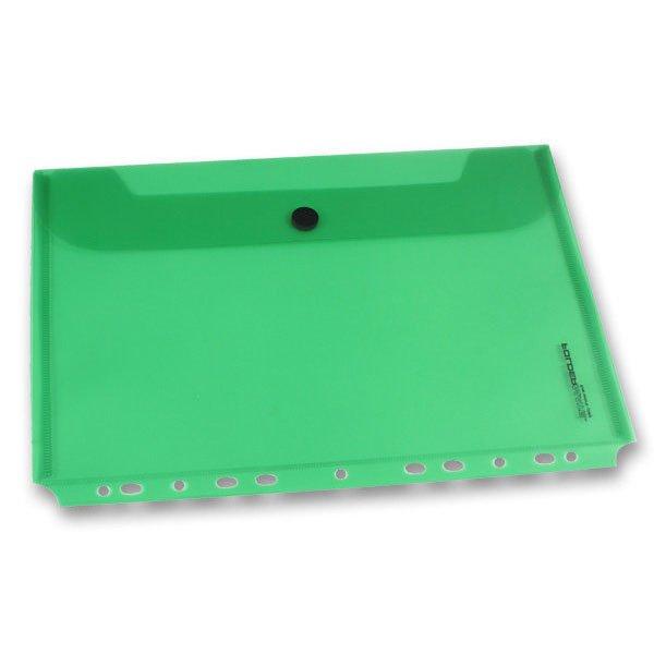 Třídění a archivace - Zakládací obálka FolderMate PopGear zelená, A4