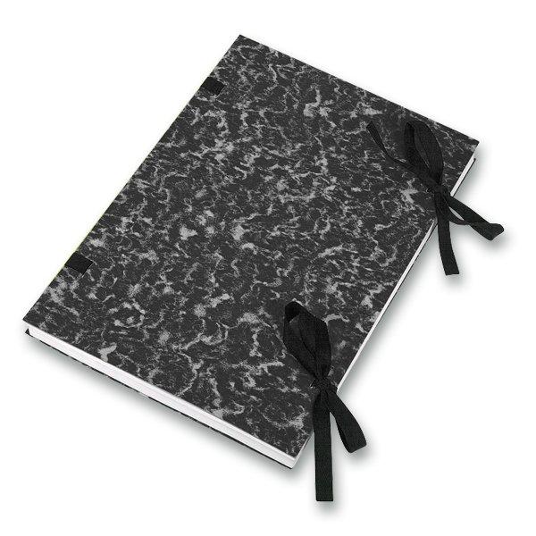 Třídění a archivace - Desky s tkanicí Hit Office černé