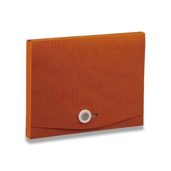 Třídění a archivace - Box na dokumenty I Clip - A4 hnědý