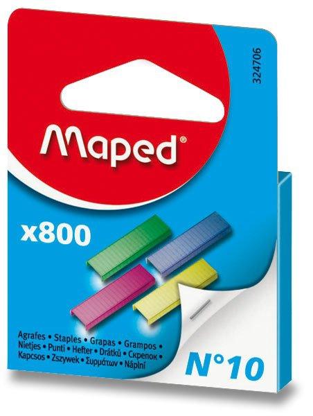 Kancelářské potřeby - Barevné drátky Maped No.10 800 ks