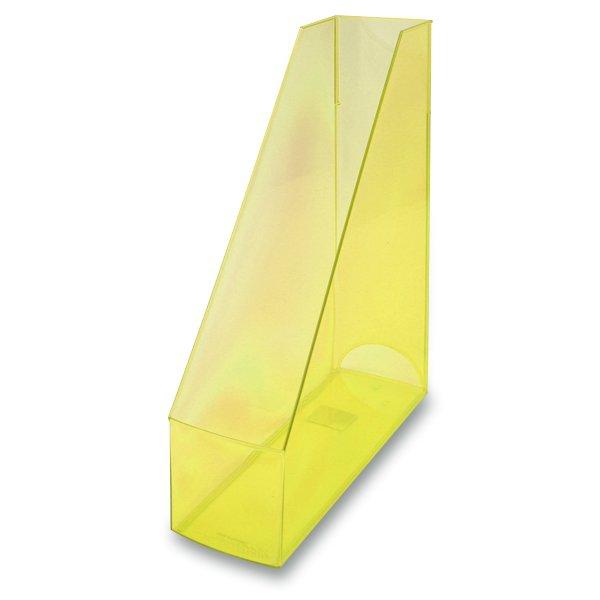 Kancelářské potřeby - Stojan na katalogy Economy Transparent žlutý