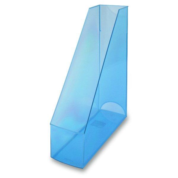 Kancelářské potřeby - Stojan na katalogy Economy Transparent modrý