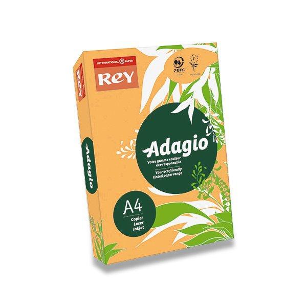 Papír tiskopisy - Barevný papír Rey Adagio zlatý