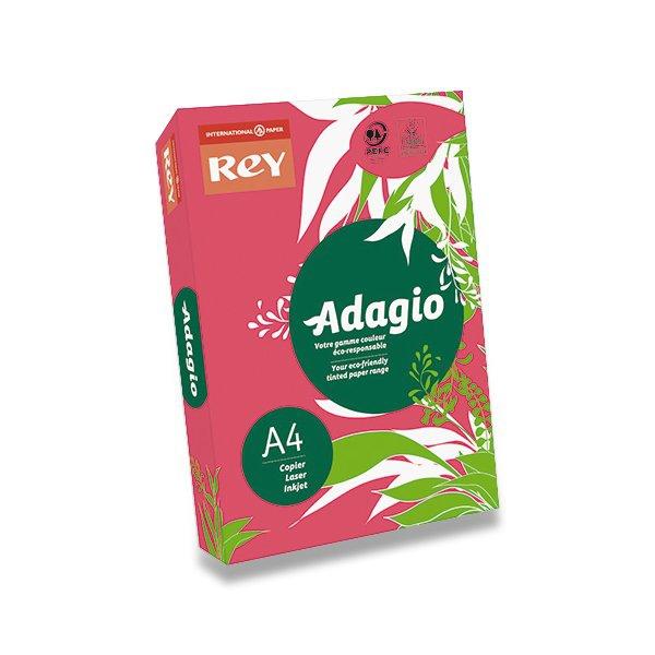 Papír tiskopisy - Barevný papír Rey Adagio fuchsia