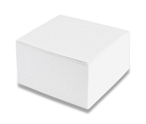 Papír tiskopisy - Poznámkový bloček - nelepený 90 × 90 × 50 mm, 500 listů
