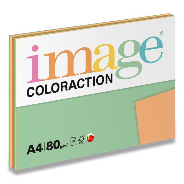 Papír tiskopisy - Barevný papír Image Coloraction - Mix intenzivní 80 g, 5 x 20 listů