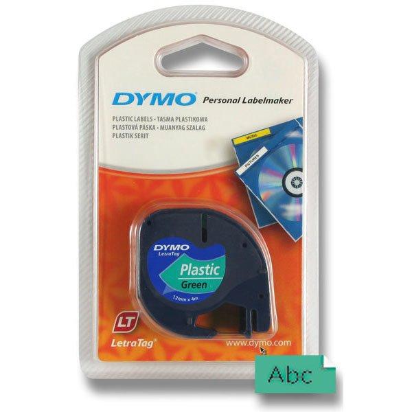 Kancelářské potřeby - Pásky Dymo pro štítkovač LetraTag zelená plastová