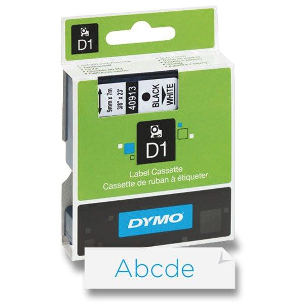 Kancelářské potřeby - Dymo - samolepicí polyesterové pásky pro štítkovače modrá / bílá