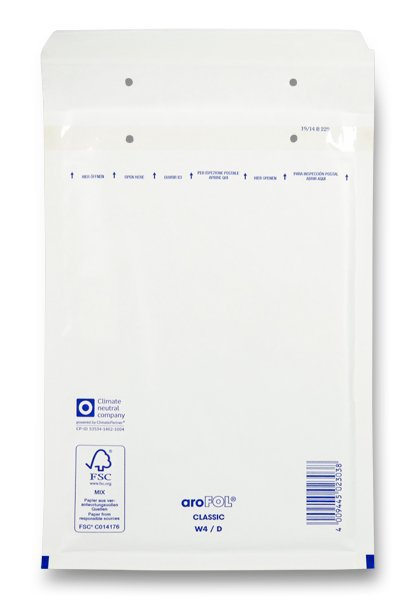 Papír tiskopisy - Bublinková obálka - D14, 10 ks 200 × 275 mm