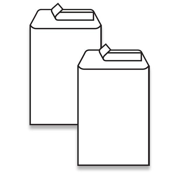 Papír tiskopisy - Bílá obálka Clairefontaine C5, samolepicí, bez okénka