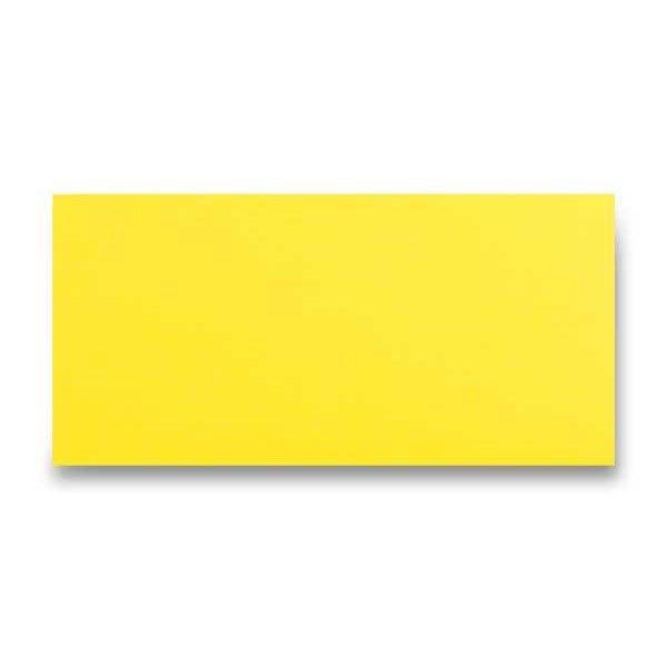 Papír tiskopisy - Barevná obálka Clairefontaine žlutá, DL