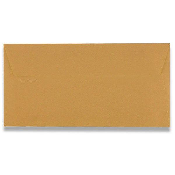 Papír tiskopisy - Barevná obálka Clairefontaine sytě oranžová, DL