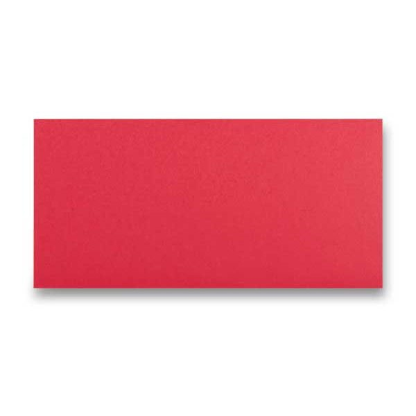 Papír tiskopisy - Barevná obálka Clairefontaine červená, DL