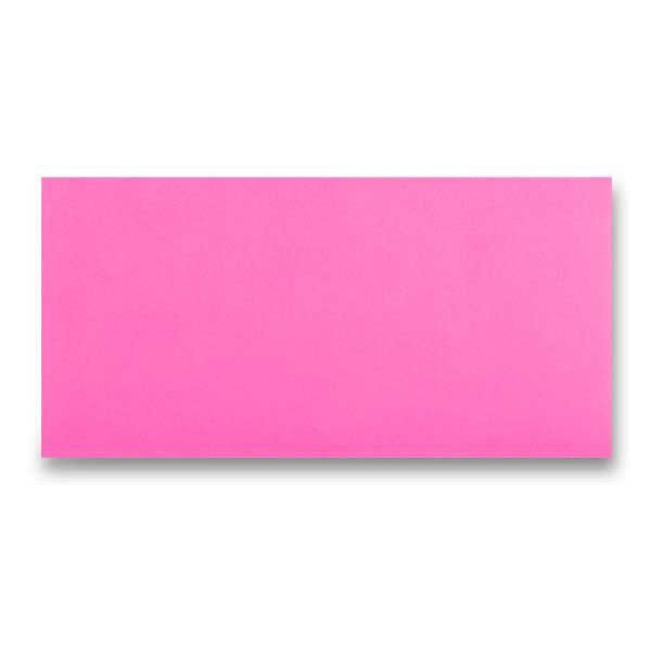Papír tiskopisy - Barevná obálka Clairefontaine růžová, DL
