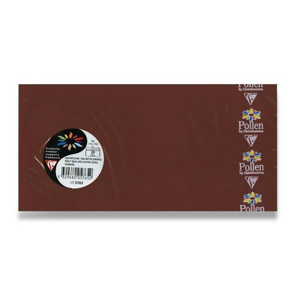 Papír tiskopisy - Barevná obálka Clairefontaine hnědá, DL