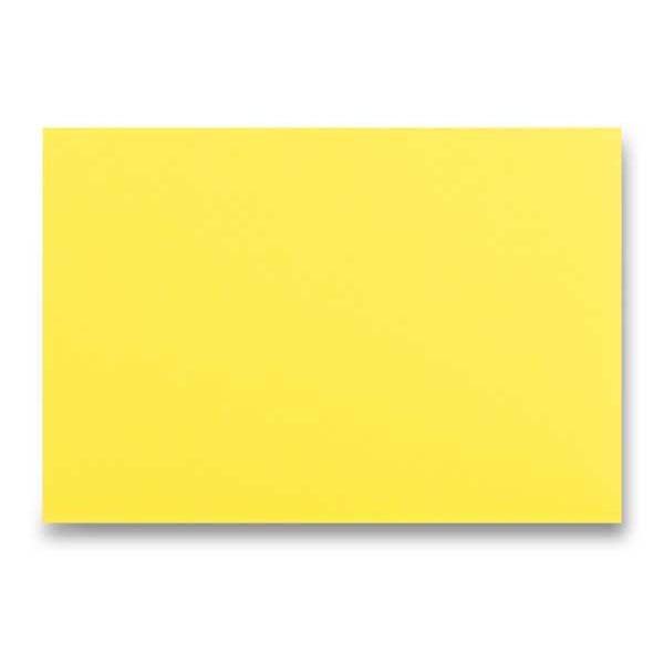 Papír tiskopisy - Barevná obálka Clairefontaine žlutá, C6