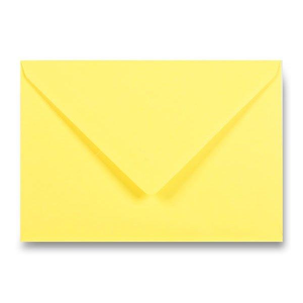 Papír tiskopisy - Barevná obálka Clairefontaine žlutá, C5