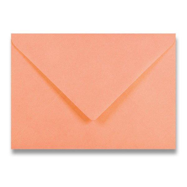 Papír tiskopisy - Barevná obálka Clairefontaine oranžová, C5