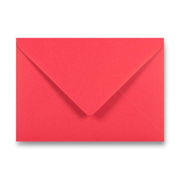 Papír tiskopisy - Barevná obálka Clairefontaine červená, C5