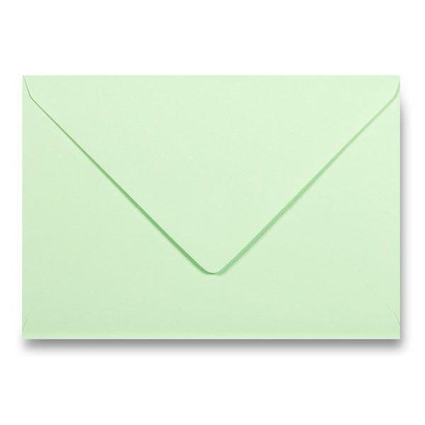 Papír tiskopisy - Barevná obálka Clairefontaine sv. zelená, C5