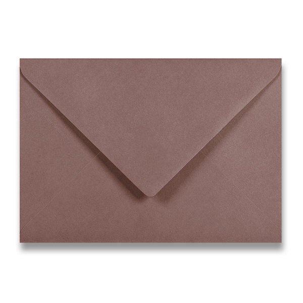 Papír tiskopisy - Barevná obálka Clairefontaine hnědá, C5