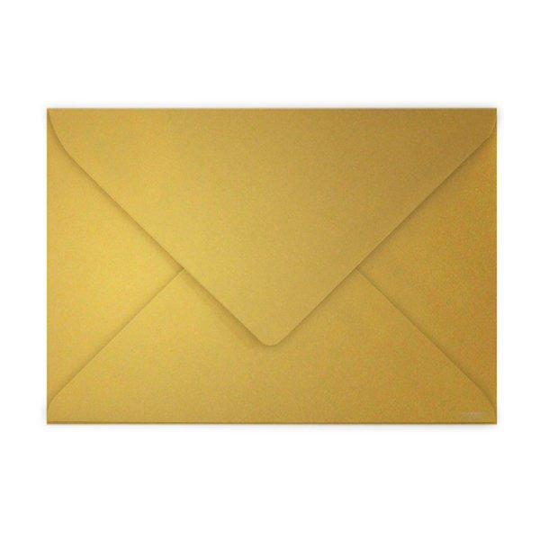Papír tiskopisy - Barevná obálka Clairefontaine zlatá, C5