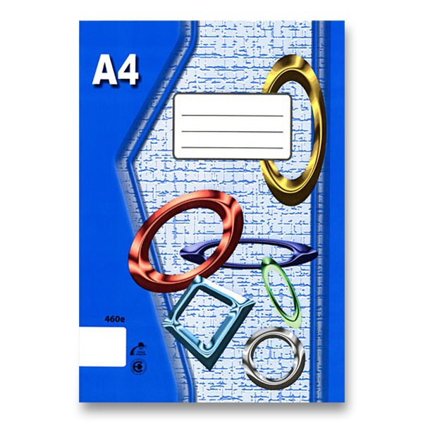 Školní a výtvarné potřeby - Školní sešit EKO 420 A4, čistý, 20 listů