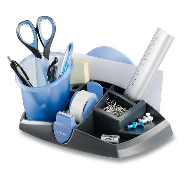 Kancelářské potřeby - Stolní organizér Maped Ergologic modrý