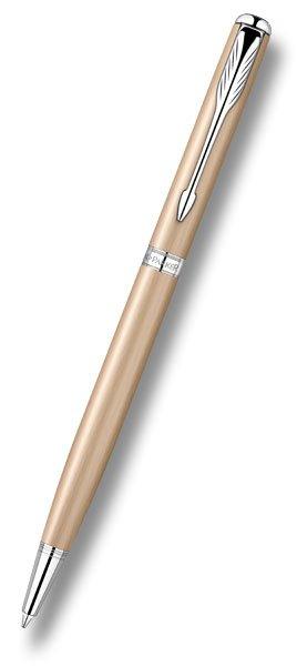 Psací potřeby - Parker Sonnet Pink Gold kuličková tužka Slim