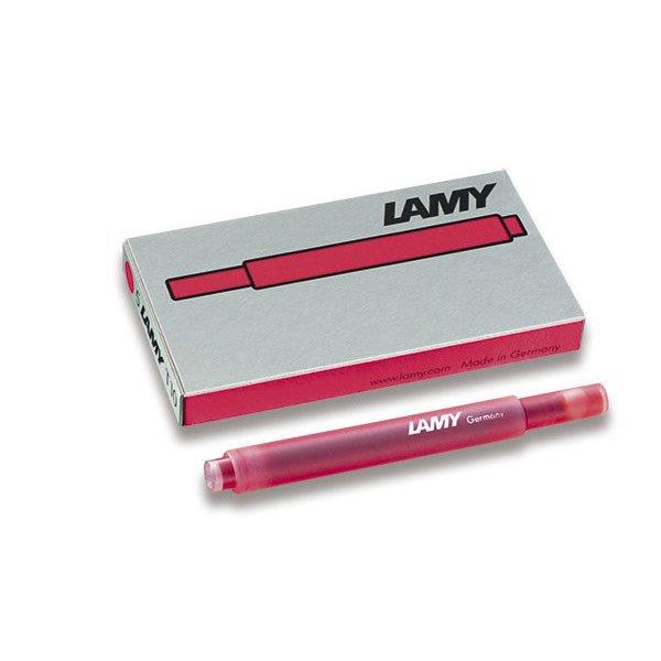 Psací potřeby - Lamy inkoustové bombičky T10 Neon Coral