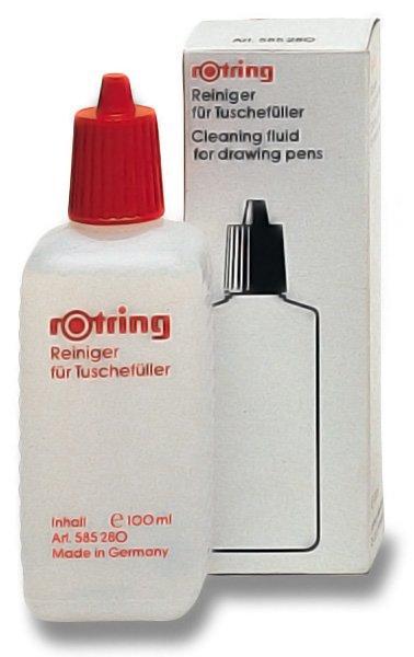 Psací potřeby - Čisticí kapalina na technická pera Rotring 100 ml