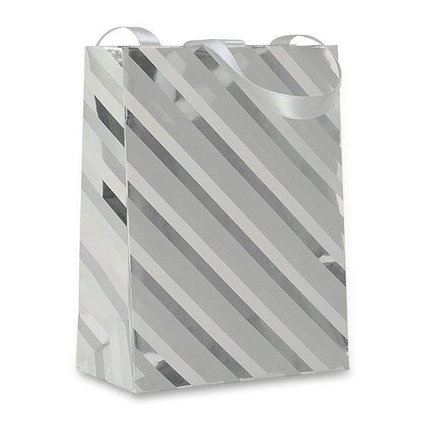 Obalový materiál drogerie - Dárková taška Premium White 170 x 60 x 220 mm