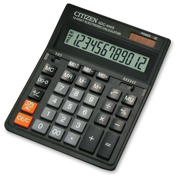 Kancelářské potřeby - Vědecký kalkulátor Citizen SDC-444S