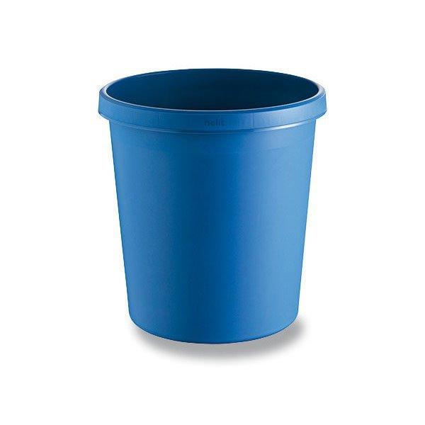 Kancelářské potřeby - Odpadkový koš Helit modrý