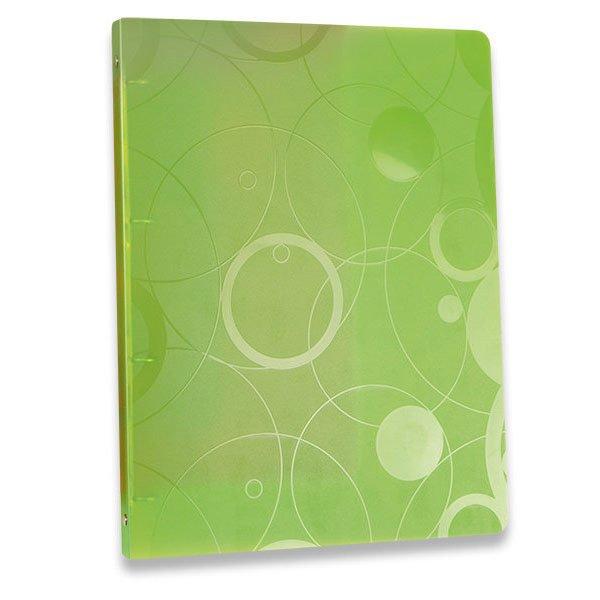 Třídění a archivace - 4kroužkový pořadač Neo Colori zelený