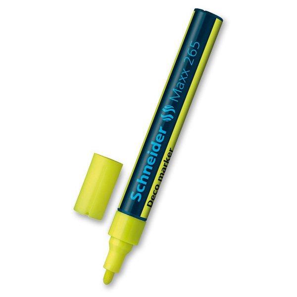 Psací potřeby - Popisovač Schneider Maxx 265 žlutý