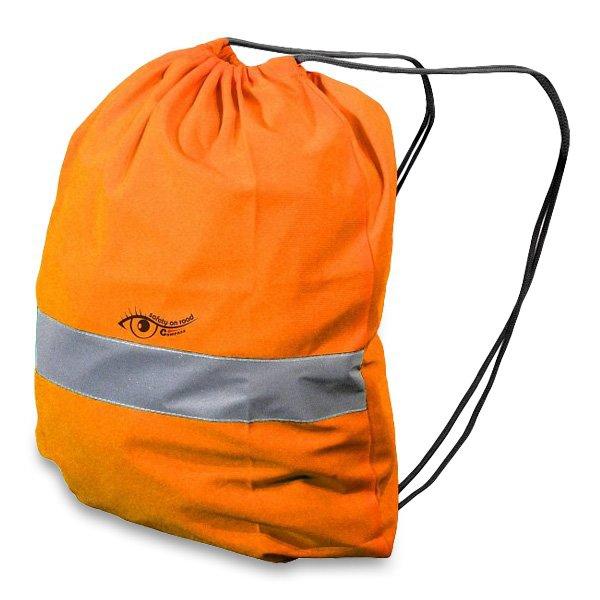 Školní a výtvarné potřeby - Batoh reflexní oranžový
