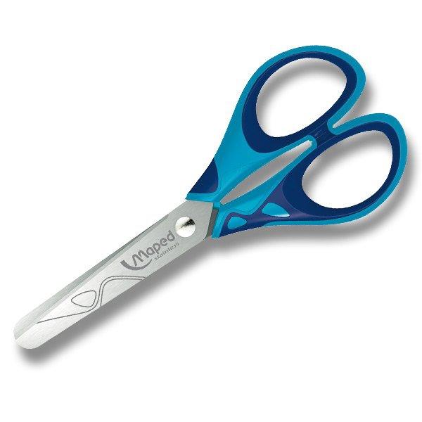 Kancelářské potřeby - Nůžky Maped Essentials Soft 13 cm, blistr, mix barev