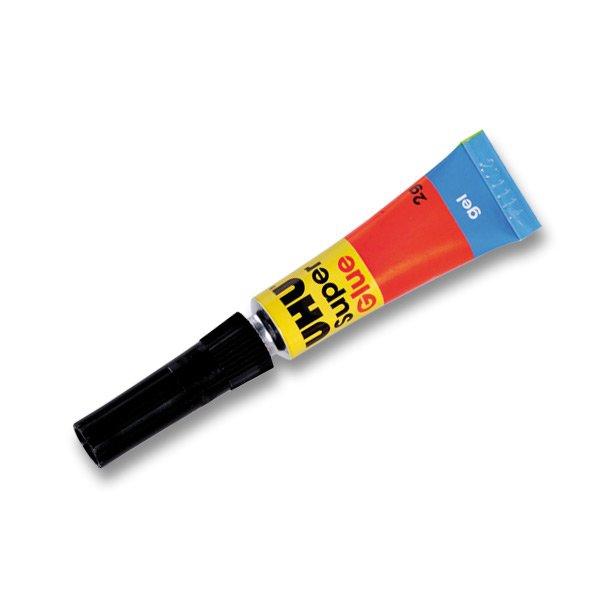 Kancelářské potřeby - Vteřinové lepidlo Uhu Super Glue 2 g, gel