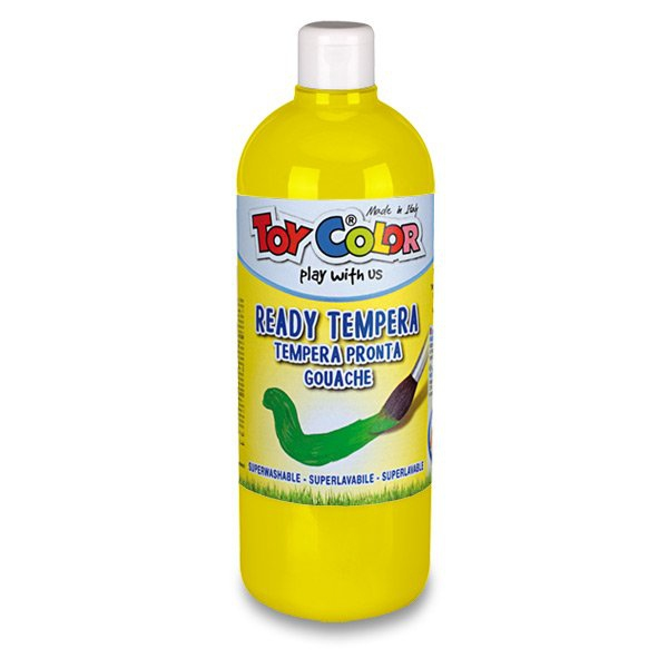 Školní a výtvarné potřeby - Temperová barva Ready Tempera žlutá