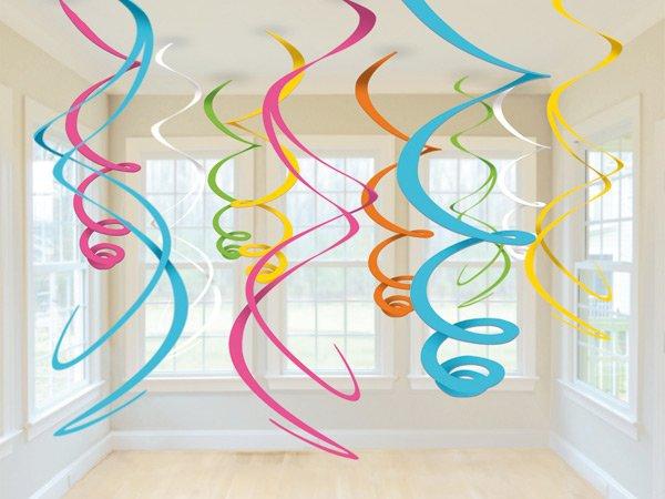 Školní a výtvarné potřeby - Spirála plastová 12 kusů, délka 55,8 cm