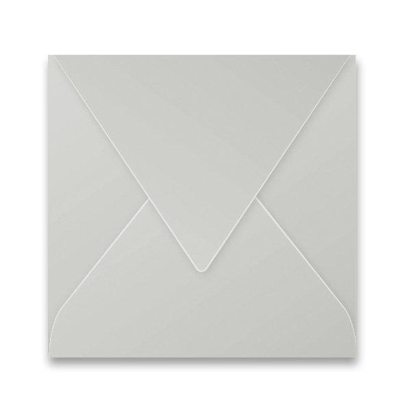 Papír tiskopisy - Barevná obálka Clairefontaine stříbrná, 165 × 165 mm