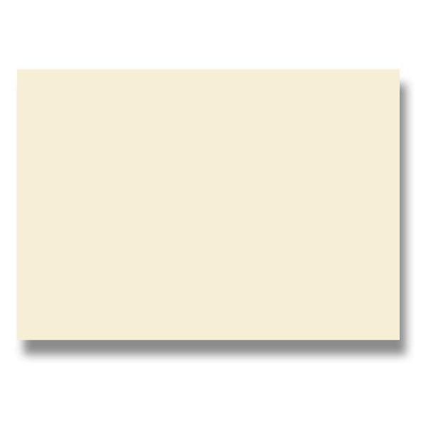 Papír tiskopisy - Barevná dopisní karta Clairefontaine krémová, A4