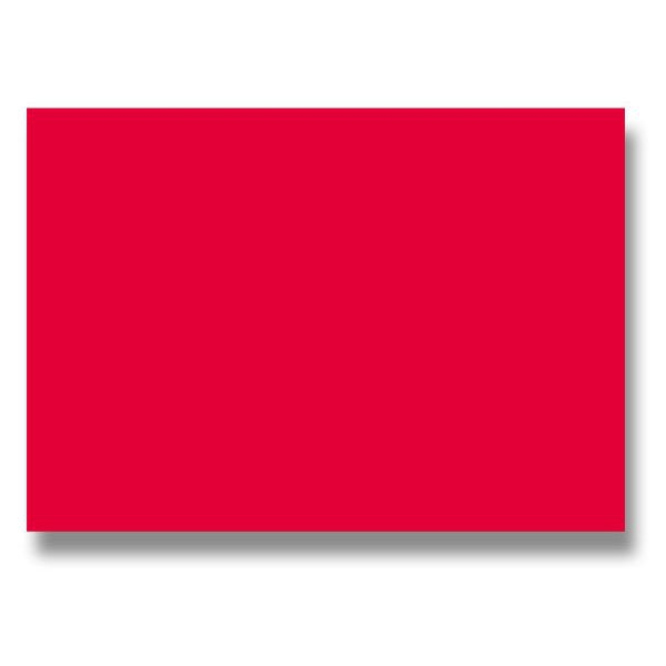Papír tiskopisy - Barevná dopisní karta Clairefontaine červená, A4
