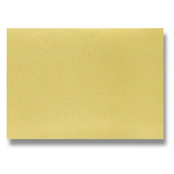 Papír tiskopisy - Barevná dopisní karta Clairefontaine zlatá, A4