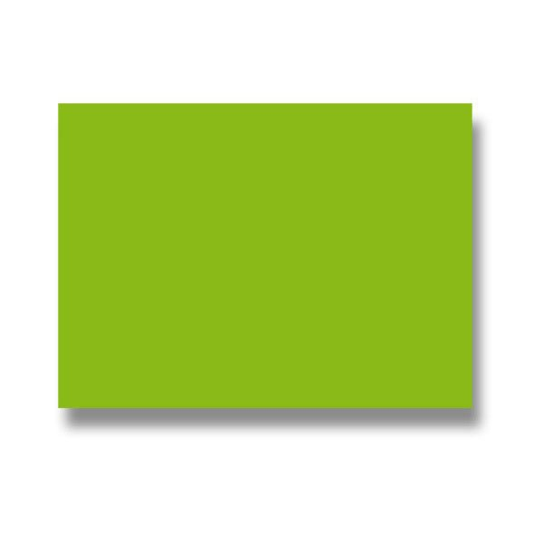Papír tiskopisy - Barevná dopisní karta Clairefontaine zelená, 70 x 95 mm