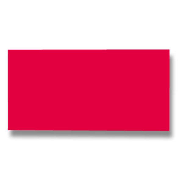 Papír tiskopisy - Barevná dopisní karta Clairefontaine korálová červená, DL