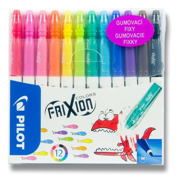 Psací potřeby - Gumovací fixy Pilot 4204 FriXion Colors 12 barev