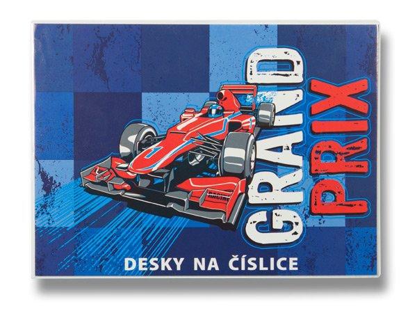Školní a výtvarné potřeby - Desky na číslice Grand Prix
